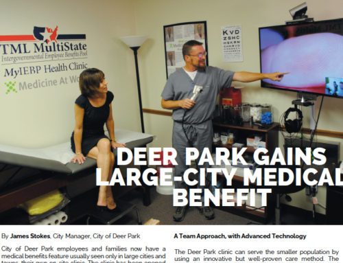 Our City of Deer Park Clinic Featured in Texas Town & City