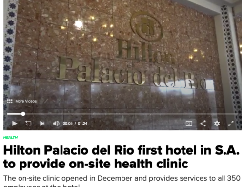 Congratulations to New Client: Hilton Palacio del Rio in San Antonio, Texas